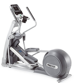 Certified Pre-Owned (CPO) Precor EFX 576 Dual Action Total Body w/Cross Ramp and THR, Experience Series, Self-Powered
