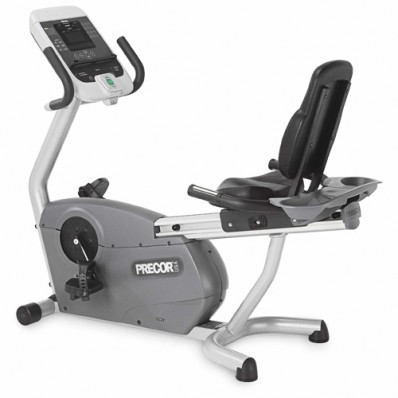 Certified Pre-Owned (CPO) Precor C846 Recumbent Bike (Self Powered), Experience Series